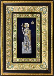 Ростовая икона святого великомученика Димитрия Солунского 29 х 40,5 см