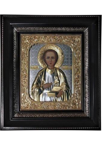 Икона святого Пантелеймона Целителя 27х31 см