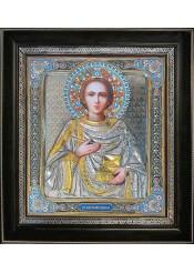 Икона святого великомученика Пантелеймона Целителя 36х40,5 см