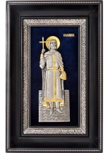 Икона святого равноапостольного князя Владимира 18,5 х 29 см