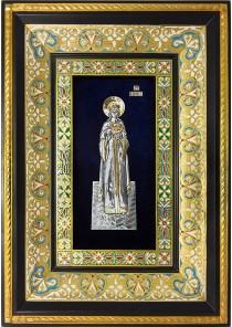 Ростовая икона святой великомученицы Екатерины Александрийской 29 х 40,5 см