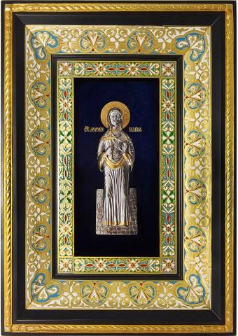Ростовая икона святой мученицы Галины Коринфской 29 х 40,5 см