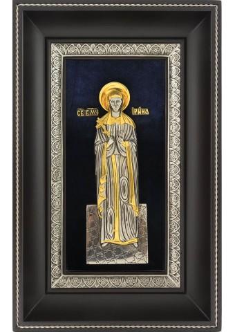 Икона святой великомученицы Ирины Македонской 18,5 х 29 см