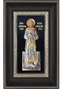 Икона святой блаженной Ксении Петербургской 18,5 х 29 см