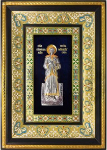Ростовая икона святой блаженной Ксении Петербургской 29 х 40,5 см