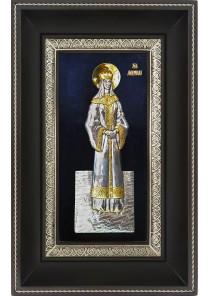 Икона святой мученицы Людмилы Чешской 18,5 х 29 см