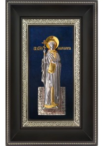 Икона святой великомученицы Маргариты (Марины) Антиохийской 18,5 х 29 см