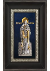 Икона святой мученицы Валентины Кесарийской (Палестинской) 18,5 х 29 см