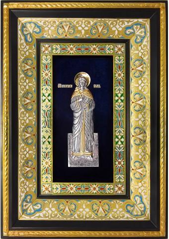 Ростовая икона святой мученицы Веры Римской 29 х 40,5 см