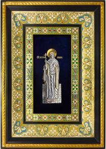 Ростовая икона святой мученицы Лидии Иллирийской 29 х 40,5 см