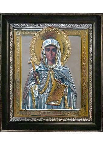 Икона святой великомученицы Параскевы Пятницы 36,5 х 41 см