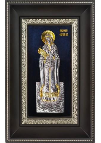 Икона святой Параскевы (Петки) Сербской 18,5 х 29 см