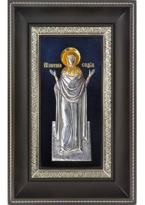 Икона святой мученицы Софии Римской 18,5 х 29 см