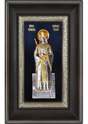 Икона святой благоверной царицы Тамары Грузинской 18,5 х 29 см