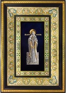 Ростовая икона святой мученицы Валентины Кесарийской (Палестинской) 29 х 40,5 см