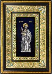 Ростовая икона святой мученицы Валерии (Калерии) Кесарийской (Палестинской) 29 х 40,5 см