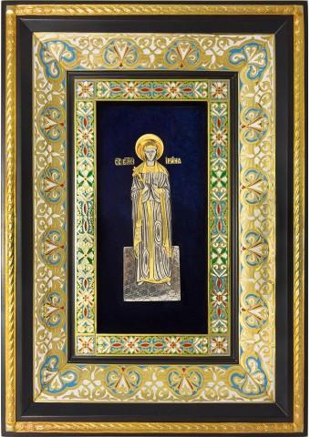 Ростовая икона святой великомученицы Ирины Македонской 29 х 40,5 см