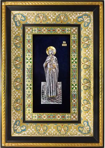 Ростовая икона святой великомученицы Варвары 29 х 40,5 см