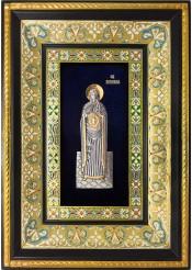 Ростовая икона святой Вероники Праведной 29 х 40,5 см