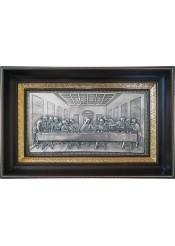 Икона «Тайная Вечеря» (копия работы Леонардо да Винчи) 37 х 24 см