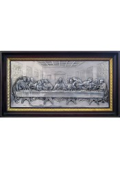 Икона «Тайная Вечеря» (копия работы Леонардо да Винчи) 57 х 32 см