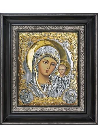 Казанская икона Божьей Матери 26,5 х 31 см