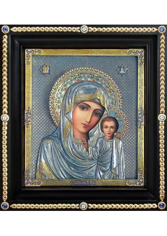 Казанская икона Божьей Матери 35 х 39 см