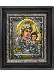 Казанская икона Пресвятой Богородицы 27 х 31 см