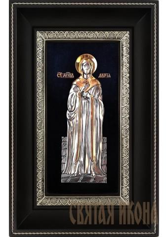 Икона святой мученицы Дарьи (Дарии) Римской 18,5 х 29 см