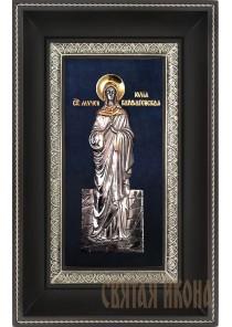 Икона святой мученицы Юлии (Иулии) Карфагенской 18,5 х 29 см