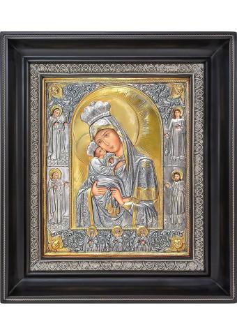 Почаевская икона Божией матери 31 х 35 см