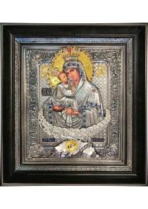 Почаевская икона Божией Матери 36,5 х 41 см