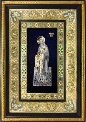 Ростовая икона святого Феодосия Печерского 29 х 40,5 см