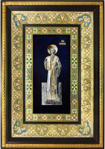 Ростовая икона святого первомученика и архидиакона Стефана 29 х 40,5 см