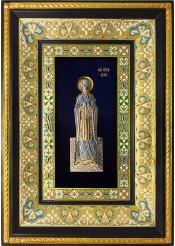 Ростовая икона святой Благоверной Великой Княгини Анны Кашинской 29 х 40,5 см