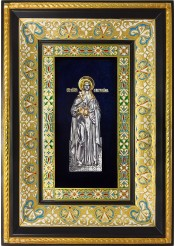 Ростовая икона святой мученицы Фотинии/Светланы Римской (Самарянской) 29 х 40,5 см