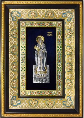 Ростовая икона святой Параскевы (Петки) Сербской 29 х 40,5 см