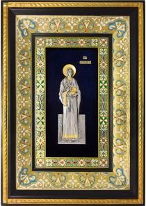 Ростовая икона святого великомученика Пантелеимона 29 х 40,5 см
