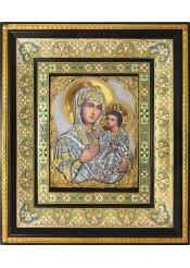 Тихвинская икона Божией Матери 35 х 41 см