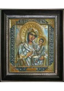 Тихвинская икона Пресвятой Богородицы 31 х 35 см