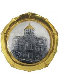 Декоративная тарелка «Владимирский собор в Херсонесе» 28,5 см
