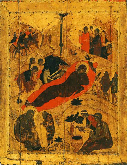 фото Рождество Христово Андрей Рублёв Благовещенский cобор Московского Кремля